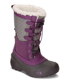 The North Face Kids' Shellista Lace III Winter Waterproof Boots Tall Winter Boots, Girls Winter Boots, North Face Kids, The North Face, Insulated Boots, Waterproof Winter Boots, Designer Boots, Shoes Outlet, Big Kids