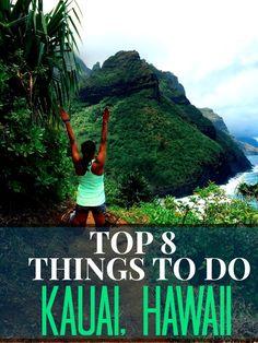 Must do things to do in Kauai, Hawaii! LOVE THIS LIST!