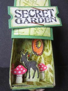 Sanne Kreativ: Meine Welt in der Streichholzschachtel: Secret Garden