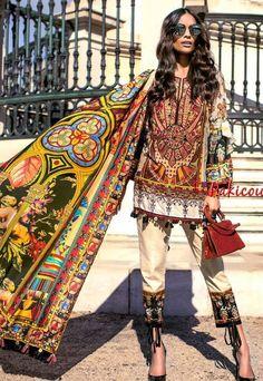 Shehla Chatoor by Shariq Pakistani Casual Wear, Pakistani Wedding Outfits, Pakistani Girl, Pakistani Dresses, Pakistani Clothing, Indian Dresses, Indian Attire, Indian Wear, Indian Outfits
