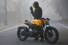 Honda CB230 Cafe Racer by Motokraft Customs
