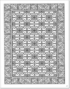 Decorative Tile Patterns Page 5 From Decorative Tile Designsmarty Noble  Coloring