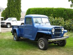 #Jeep Willys Pickup Truck