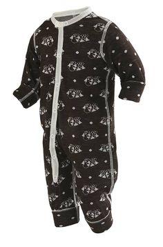 Tipsy ull/silke pyjamas/lekedress BRUN - KRABATEN.no- NETTBUTIKK Janus, Pyjamas, Wetsuit, Bodysuit, Swimwear, Clothes, Dresses, Babies, Mini