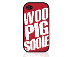 School Spirit - Woo Pig Arkansas Razorback Chant iPhone 5 Case, iPhone 4s Case, Cases for iPhone 4, Samsung Galaxy (0385)