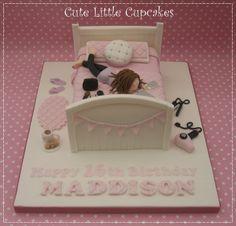 Geburtstagstorte für Mädchen - # for # birthday 16th Birthday Cake For Girls, Birthday Cake With Photo, Kids Birthday Themes, Birthday Cakes, 13th Birthday, Happy Birthday, Teenage Girl Cake, Teenage Girl Birthday, Teenager Birthday