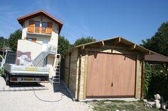 garage bois traitement autoclave  #garagebois #bois #jardin