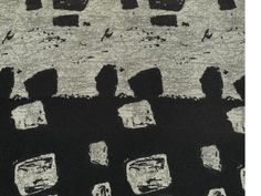 William Scott, Skaill (black), 1959, Jacquard woven wool, designed for the Edinburgh Weavers, 1160 x 3000 mm / 45¾ x 118 in