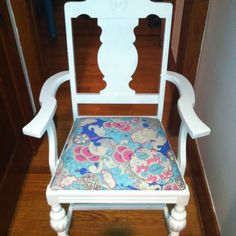 New painted chair