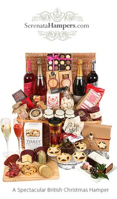 Buy John Lewis Winter Warmer Christmas Hamper from our Gift Food & Alcohol range at John Lewis & Partners. Diy Christmas Baskets, Christmas Hamper, Christmas Lunch, Christmas 2016, Little Christmas, Christmas Presents, Christmas Decorations, English Christmas, Christmas Things
