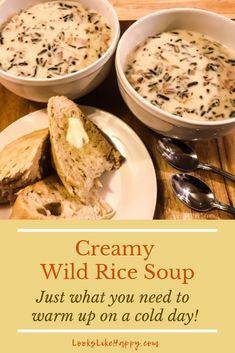 Creamy Wild Rice Sou