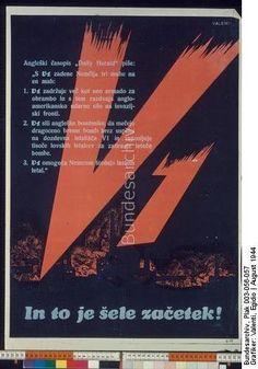 Original title:info In to je sele zacetek! Dating:August 1944 Designer:Valenti, Egidio Origin:Bundesarchiv