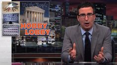 John Oliver rips the Supreme Court for treating companies like people (Temporary pin)