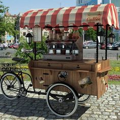 Pin by Milly Blakesley on Coffee vans Mobile Food Cart, Mobile Food Trucks, Food Cart Design, Food Truck Design, Mobile Restaurant, Outdoor Restaurant, Coffee Van, Coffee Shop, Coffee Food Truck