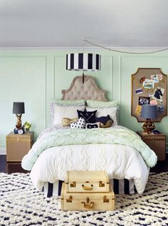 How to Get the Look of Jessica Alba's Daughters' Rooms via Brit + Co