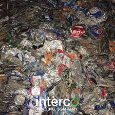 #IntercoBuys aluminum cans to #recycle. Save the planet and sell your #aluminum #UBC to us! DM for details.