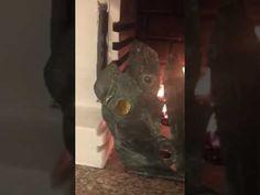Fuoco Vento Vela scultura - YouTube