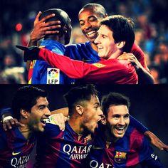 Futbol de Locura: El mejor tridente en la Historia del Barcelona
