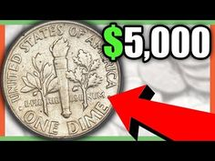 These are 5 rare dimes worth money- We look at Roosevelt dime coins to look for in your pocket change. For more valuable coin tips give the video a thumbs up. Old Coins Worth Money, Old Money, Coin Value Chart, Money Pictures, Money Pics, Penny Values, Old Coins Value, Valuable Coins, Error Coins