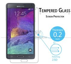 Premium Tempered Glass Screen Protector For Samsung Galaxy Note 4 Tempered Glass Protective Film With Retail Package - Shopper Geek Galaxy Note 4, Tempered Glass Screen Protector, Geek Stuff, Packaging, Samsung Galaxy, Film, Retail, Shop, Geek Things