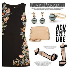 """""""Adventure"""" by pearlparadise ❤ liked on Polyvore featuring Alice + Olivia, Gianvito Rossi and Calvin Klein"""