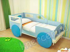 Детская кровать. Модель Кровать-джип.