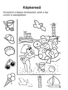 matek feladatlapok óvodásoknak - Google keresés Fun Worksheets For Kids, Summer Activities For Kids, Kindergarten Worksheets, Hidden Images, Hidden Pictures, Learning Through Play, Kids Learning, Infant Activities, Preschool Activities