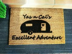 Got a friend who loves to travel? Surprise them with this personalised doormat.  #afterpayobsession #uniquegifts #australiawide #supportsmallbusiness #lmbdw #mumswhoshop #brisbanemums #personalisedoormats #familyname #personalisedgifts #frontdoordecor #homemade #homeinspo #homeinspiration Personalized Door Mats, Personalized Gifts, Support Small Business, Front Door Decor, Doormat, Unique Gifts, Homemade, Travel, Inspiration