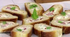 Εύκολα καναπεδάκια με γαλλική μπαγκέτα, φέτα, ζαμπόν και πιπεριά Φλωρίνης. http://www.peoplegreece.com/article/efkola-kanapedakia-galliki-bagketa-feta-zampon-ke-piperia-florinis/