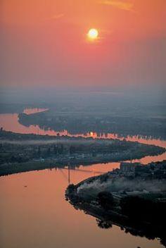 River Sava, Serbia