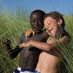 We are one regardless the colour of our skin..let's learn it from our children