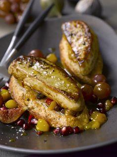 Le Foie Gras et la Saint Martin avec une #recette : les tartines d'automne au #foiegras poêlé
