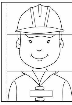 Preschool Worksheets, Preschool Classroom, Preschool Crafts, Folder Games For Toddlers, Activities For Kids, Community Helpers Preschool, Community Workers, Home Daycare, Diy Toys