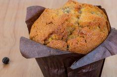 Muffins aux carottes, ananas et à la pomme verte