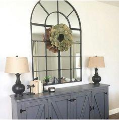 DIY Entryway Locker via Shanty2Chic http://www.shanty-2-chic.com/2015/10/diy-locker-cabinet-as-seen-on-hgtvs-open-concept.html Mirror is from Ballard designs