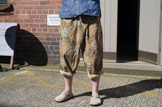 Engineered GarmentsBrown Floral Print Canvas Fisherman Pant