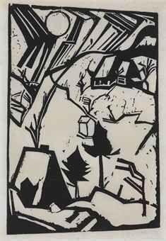 Schneetreiben (D. W278) Indie Kunst, Indie Art, Expressionist Artists, Abstract Expressionism, Museum Of Fine Arts, Museum Of Modern Art, Linocut Prints, Art Prints, Oeuvre D'art