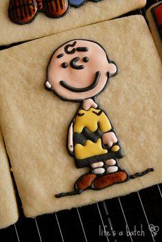 Charlie Brown Sugar Cookies