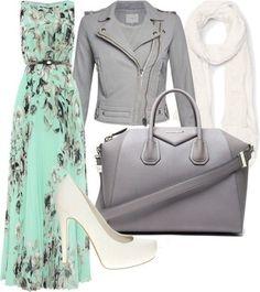 Green Floral Pleated Sleeveless Floor Length The Latest European And American fashion Casual Chiffon Maxi Dress - Maxi Dresses - Dresses