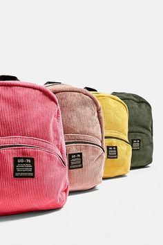15641150d7583 Slide View  6  UO Mini Corduroy Backpack Mini Rucksack