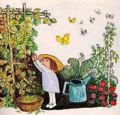 A Book of Seasons - written & illustrated by Alice and Martin Provensen (1976).