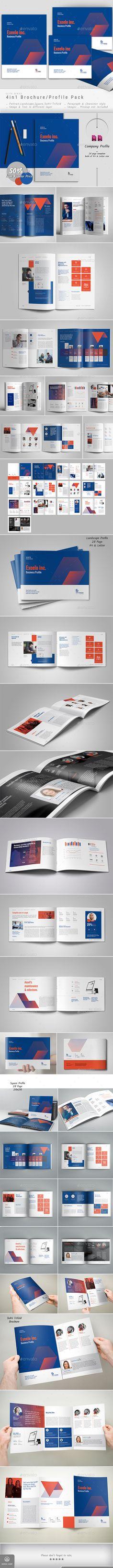 Company Profile Bundle/Pack - Corporate Brochures