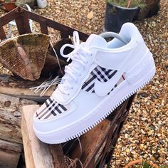 Crepped, custom Nike Air Force 1 sneakers made by professional artists. All our sneakers are made with care. Dr Shoes, Cute Nike Shoes, Swag Shoes, Cute Nikes, Cute Sneakers, Hype Shoes, Me Too Shoes, Nike Custom Shoes, Custom Painted Shoes