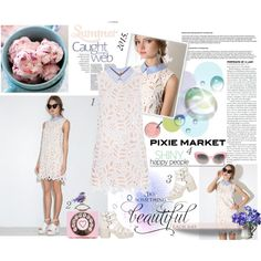 #pixiemarket Summer Style with Pixie-Market! by minojka on Polyvore featuring Crap, White Label, summerstyle, summerfashion, pixiemarket and summer2015