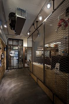 Formo Design Studio have designed Wash Coffee, a charming laundry & coffee shop situated in Taipei City, Taiwan. Fitness Design, Gym Design, Garage Design, Cafe Design, Store Design, House Design, Barber Shop Interior, Barber Shop Decor, Gym Interior