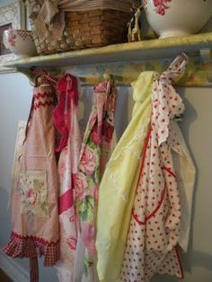 Gotta have lots of old aprons!