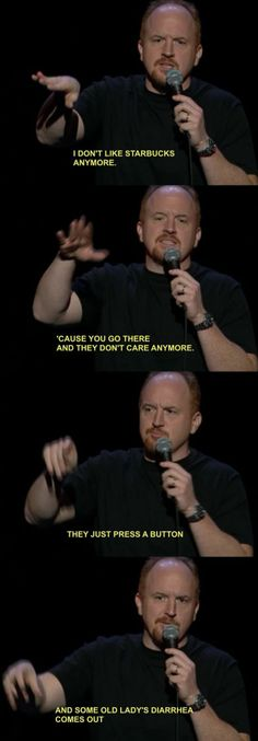 Louis CK On Starbucks