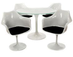 Saarinen Style Dining Set