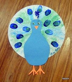 Tippytoe Crafts: Peacocks