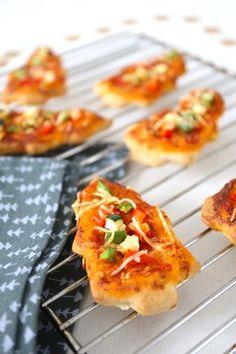 Mini kerstpizza's | Lekker en Simpel #kerst #pizza